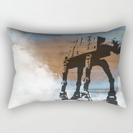Blue Hoth Rectangular Pillow