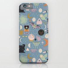 Lunar Pattern: Blue Moon iPhone 6s Slim Case