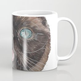 Der the Cat - artist Ellie Hoult Coffee Mug