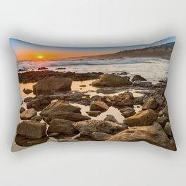 White's Point Sunset 2 Rectangular Pillow