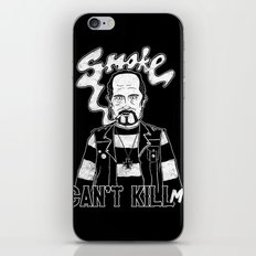 Smoke Can't Kill Me iPhone & iPod Skin