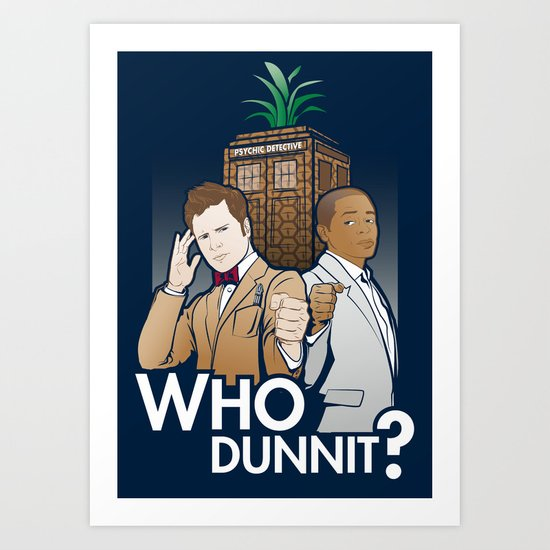 Who Dunnit? Art Print