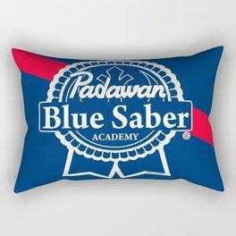 Padawan Blue Saber Academy Rectangular Pillow