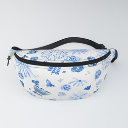 All the blue flowers Fanny Pack