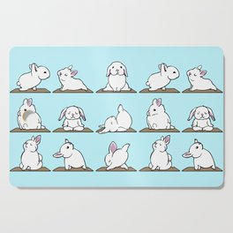 Bunnies Yoga Cutting Board