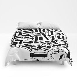 CALLIGRAPHY N°2 ZV Comforters
