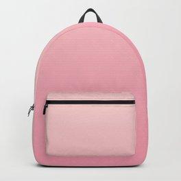 Ombre Millennial Pink Rose Quartz Rose Gold Pink Dogwood Backpack