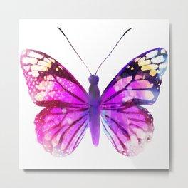 Pink Butterfly Metal Print