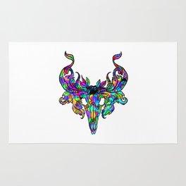 Psychedelic Skull Rug