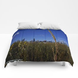 Chicago, the Prairie City (Chicago Northerly Island) Comforters