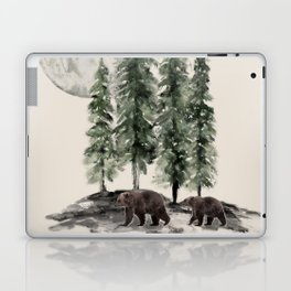 Full Moon Rising Laptop & iPad Skin
