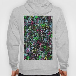paint drop design - abstract spray paint drops 2 Hoody
