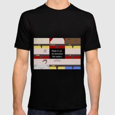 Maybe it's not the Destination that matters - Star Trek: Voyager VOY startrek trektangle minimalist LARGE Black Mens Fitted Tee