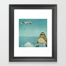 Air Communication Framed Art Print