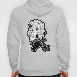 Peony Floral Bouquet Hoody