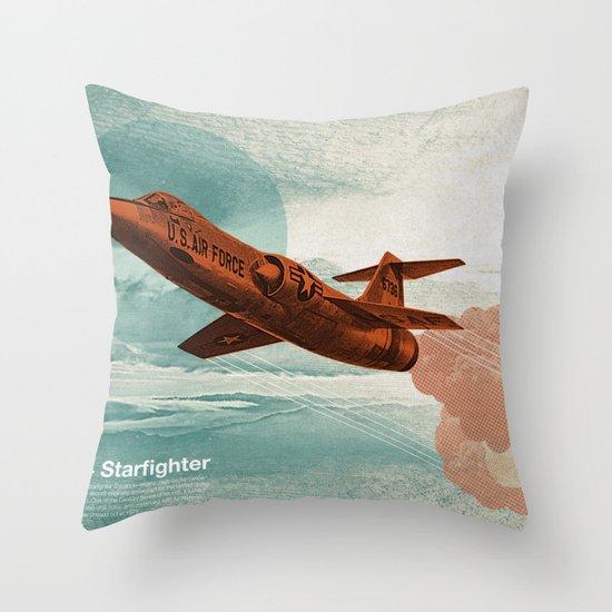 Starfighter Throw Pillow