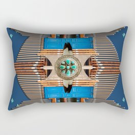 Organ Mountain Rectangular Pillow