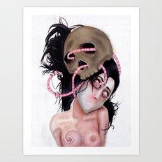 Never Still (restless) Art Print