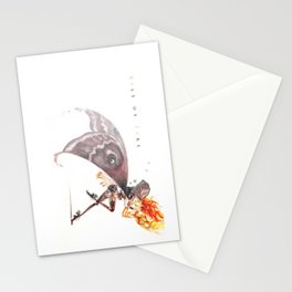 kiss of fire Stationery Cards