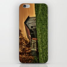 Barn on the Hill iPhone & iPod Skin