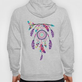 Colorful dream catcher on arrow Hoody