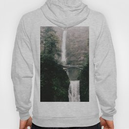 Multnomah Falls Waterfall in October - Landscape Photography Hoody