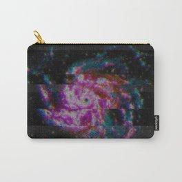 Glitch Galaxy - Spiral Galaxy M101 Carry-All Pouch