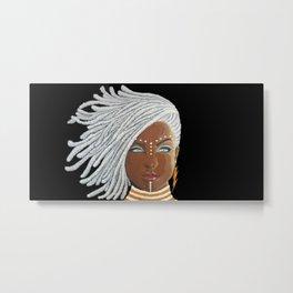 African Goddess Metal Print