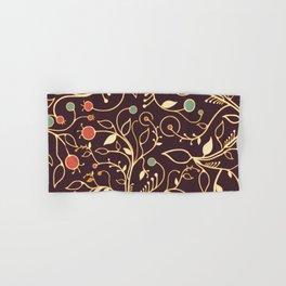 Spring bud vintage retro design Hand & Bath Towel
