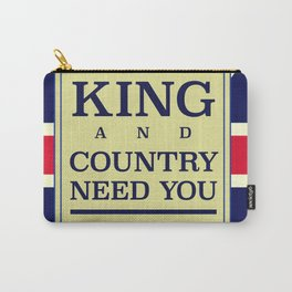 Your King and country need you Enlist. Carry-All Pouch