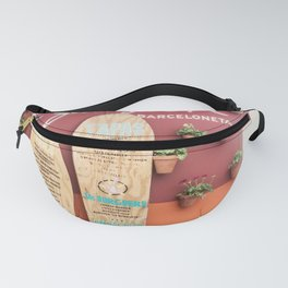 Cocktails and Tapas Fanny Pack