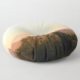 Prickly Pear Sunset / Arizona Floor Pillow