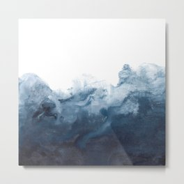 Indigo Depths No. 2 Metal Print
