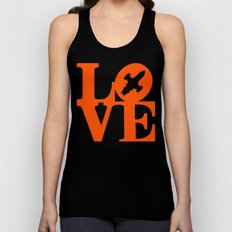 KEEPS HER IN THE AIR Unisex Tank Top