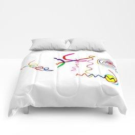 Funky Way Doodle Comforters