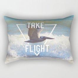 Take Flight Rectangular Pillow
