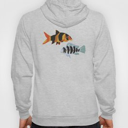 Fishies Pattern Hoody