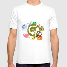 CARE - Love Our Earth Mens Fitted Tee White MEDIUM