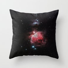 The Great Nebula in Orion Throw Pillow