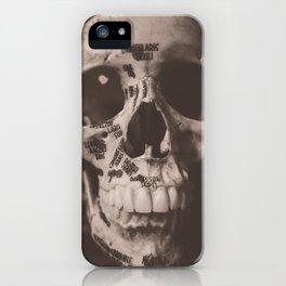 Orbicularis Oculi iPhone Case