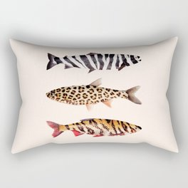 FISH PRINTS Rectangular Pillow