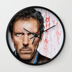 Hugh Laurie, House Wall Clock