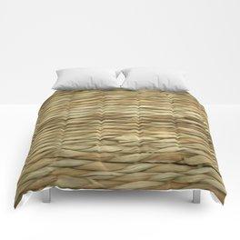 Weaved texture Comforters