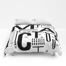 METAL FICTION Comforters