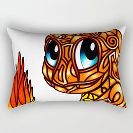 Stained glass Char Rectangular Pillow