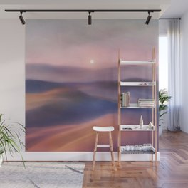 Minimal abstract landscape II Wall Mural