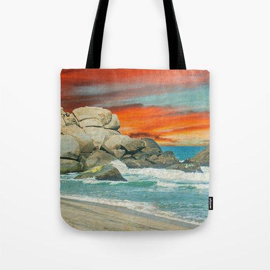 HAPPY SEASCAPE Tote Bag