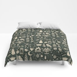 Winter Nights: Forest Comforters