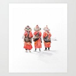 El Guerrab in Marrakesh Art Print
