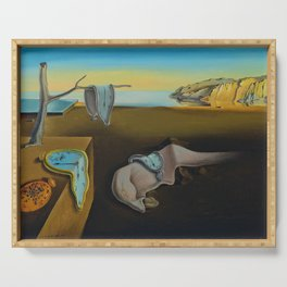 THE PERSISTENCE OF MEMORY--- SALVADOR DALÍ Serving Tray